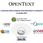 Atelier ILP Opentext 2