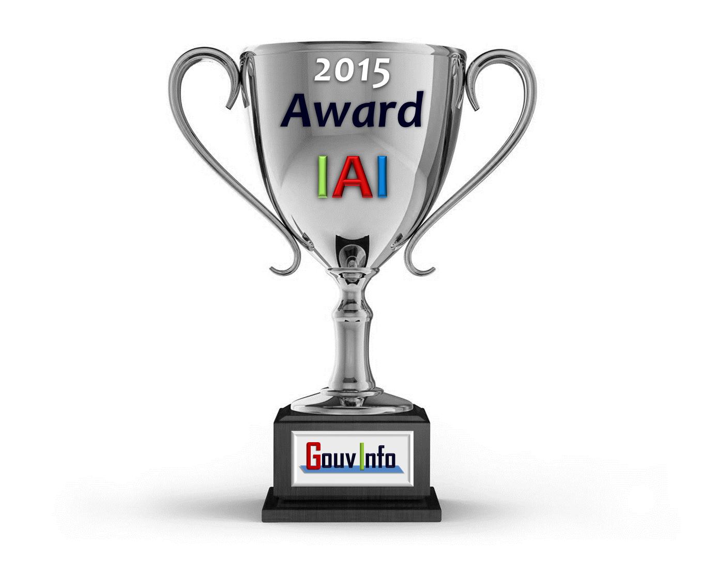 GouvInfo - Awards IAI 2015 - gouvernance de l'information